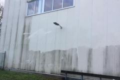 Reinigung der Aussenfassade